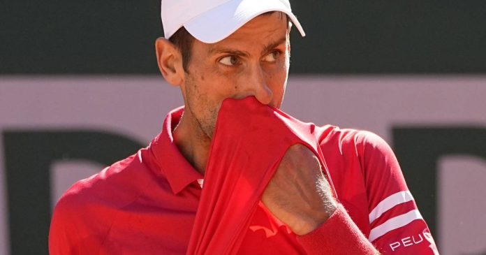 Djokovic did not appear in the double final in Mallorca
