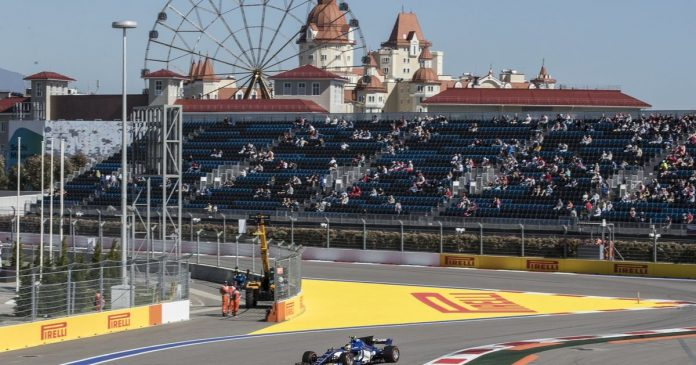 F1: Replacing Sochi in St. Petersburg 2023 - rts.ch - Auto