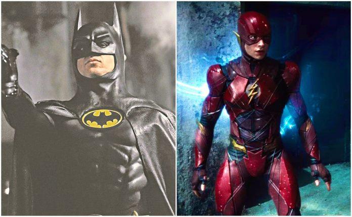 """The Flash"": Revelan primeras fotos de Michael Keaton como Bruce Wayne"