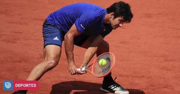 Garin Medvedev swamped and said goodbye in the round of 16 at Roland Garros