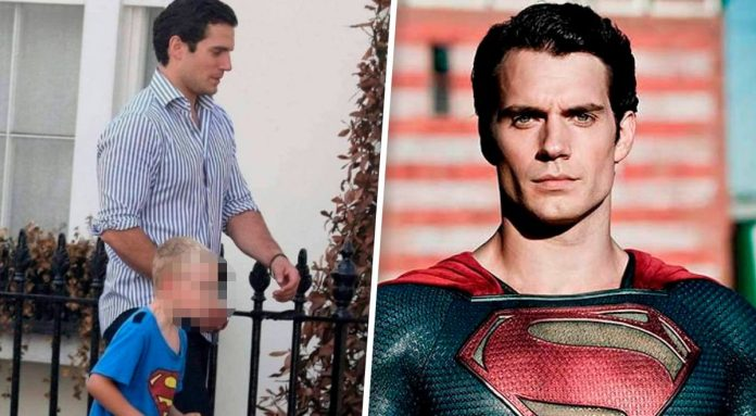 Henry Cavill and the nod towards his nephew, who didn't think his uncle was Superman