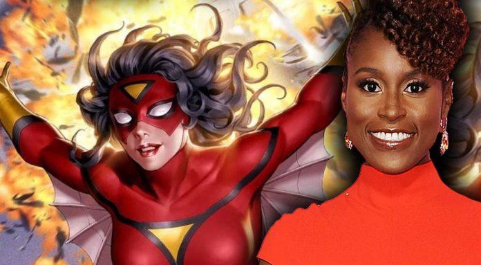 Issa Rae será Spider-Woman en Spider-Man: into the spiderverse 2