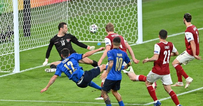 Italy defeated Austria after a crazy match