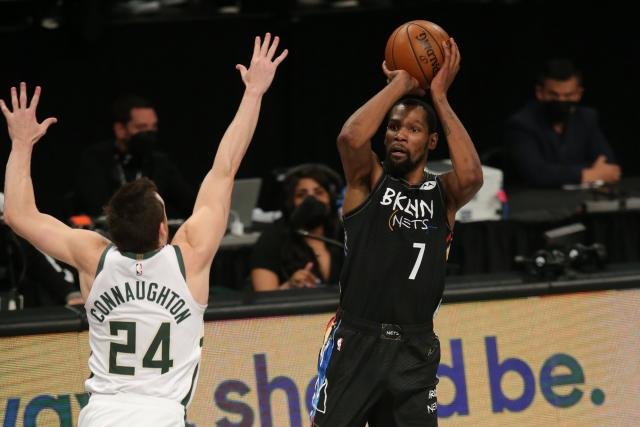 Kevin beats Bucks in Torrent Game 5, giving the Nets the lead in the series