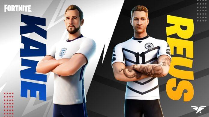 Marco Reus and Harry Kane visiting the game • Eurogamer.de