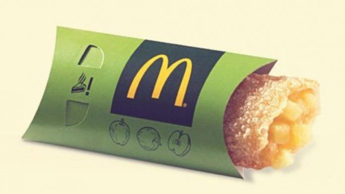 McDonald's: Announcing the return of apple sales