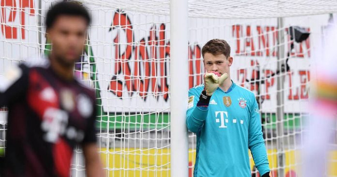 Monaco only deviates from Bayern's big goal?