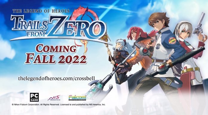 Nihon Falcom announces four titles from The Legend of Heroes saga for the West!
