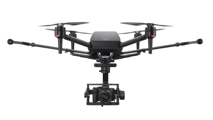Sony's first drone costs $9,000