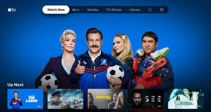 The Apple TV app runs Android TV
