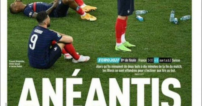 The Blues lost, the French press stunned - Liberation