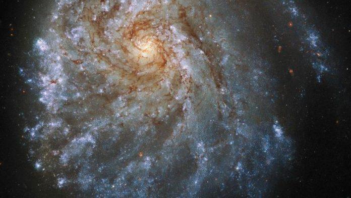 Image de la galaxie NGC 2276 prise par le télescope Hubble.