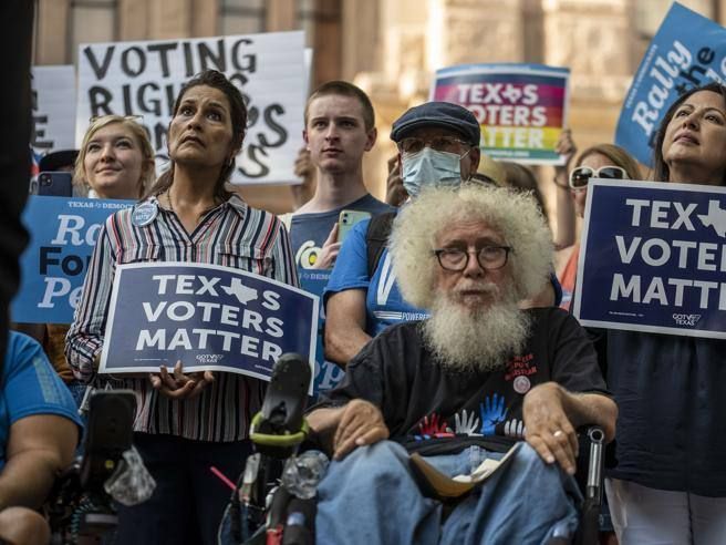 The battle for Biden's right to vote against the Republican wall - Corriere.it