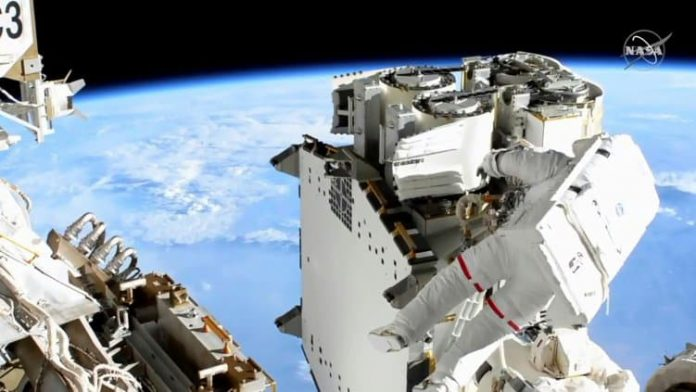 Thomas Pesquet has returned to the International Space Station, after a spacewalk of more than 6 hours