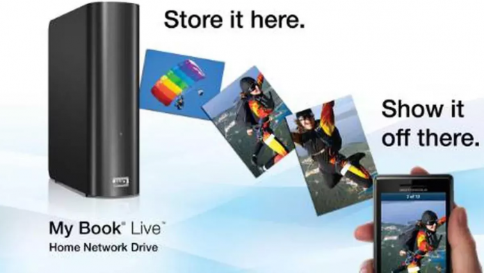Unplug My Book Live if you don't want to lose any data!