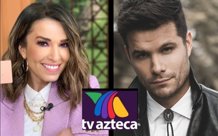 VLA.  Did Azteca TV punish Laura G and Brandon Peniche for controversial PVEM?