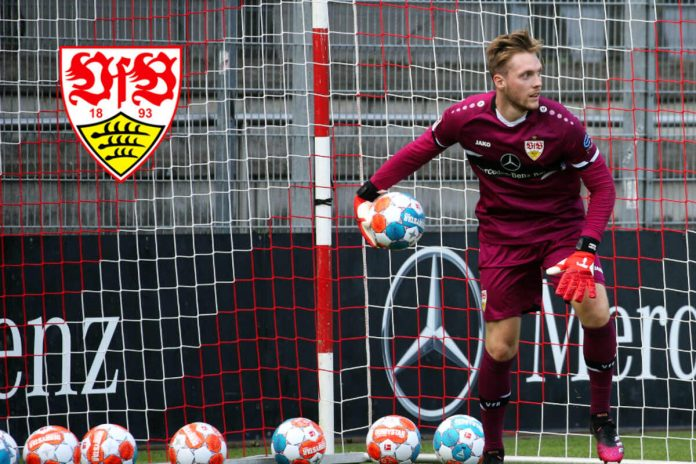 New VfB goalkeeper Florian Muller at the Olympics: will he miss the club's first game?