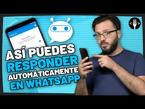 Watmat is an application to respond to messages automatically on WhatsApp Community service