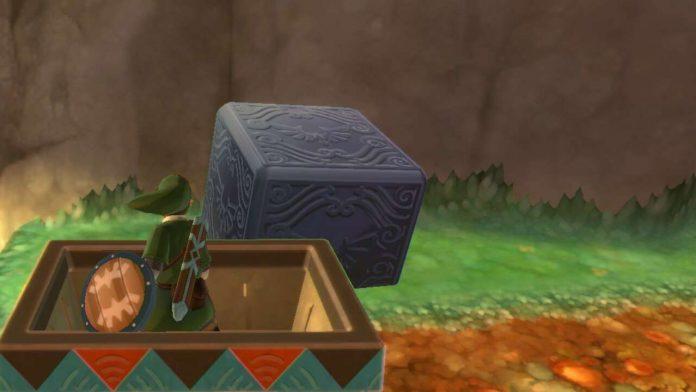 Zelda: Skyward Sword HD - Lanayru Desert Goddess Cube مواقع Locations