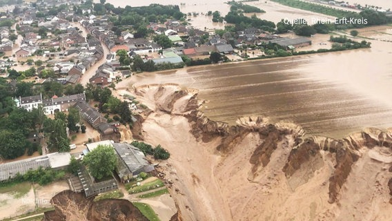 In the Rhine-Erfert district of northern Rhine-Westphalia the floodplain of Erbstadt was reduced to floodplain.