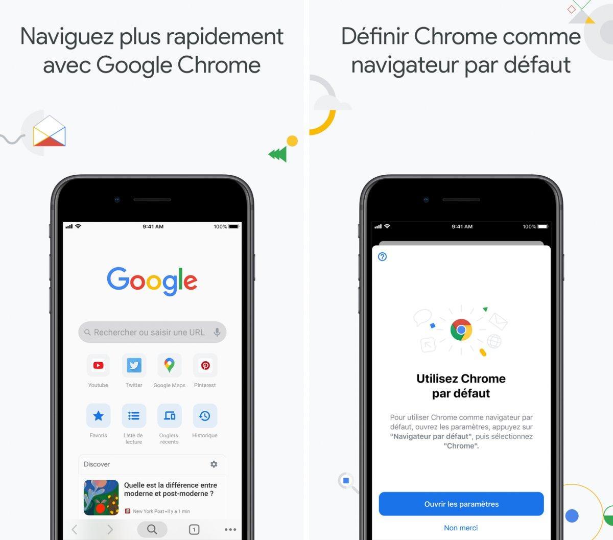 google chrome app capture ipa iphone ipad