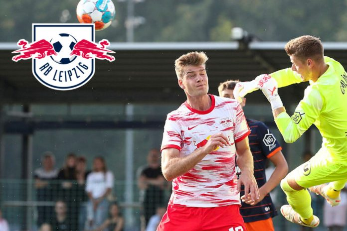 Leipzig loses friendly match against HSC Montpellier: Alexander Sorloth's goal is too small