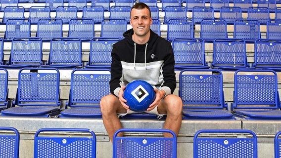 Jonas Muffert of HSV © Witters