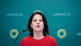 Alliance 90 / The Green Party Federal Leader Annalina Barbach (Source: dpa / K Nietfeld)