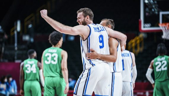 Italy beat Nigeria in cash to advance to quarterfinals    NBA