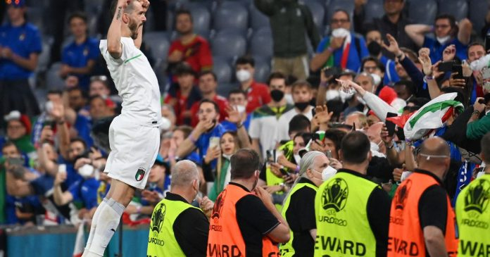 All shot, Italy goes halfway to beat Belgium - liberation