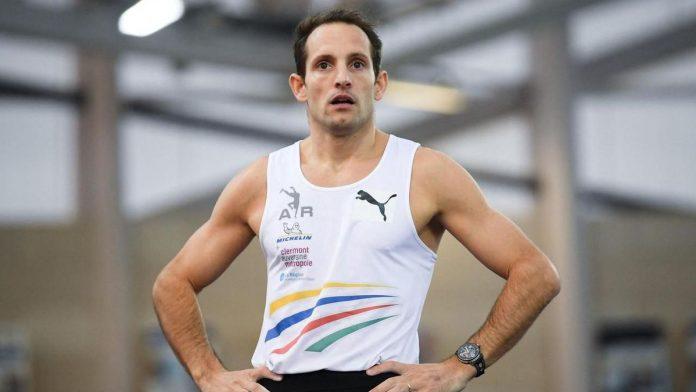 Athlete: Renault Lavilleni sprained ankle a few days before the start of the Olympics