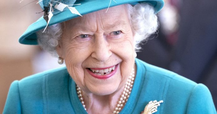 Dipper Elizabeth II away from the opening of the statue of Lady Diana