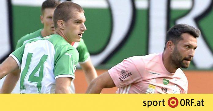German Bundesliga: Rapid progress, false start against Hartberg