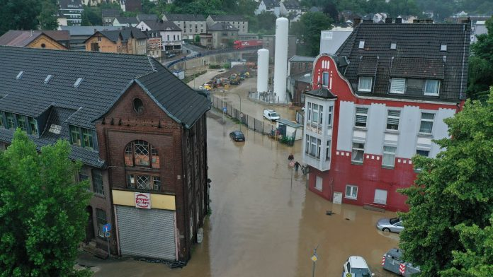Germany was hit by violent storms