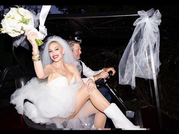 Gwen Stefani y Blake Shelton se casaron 8 meses después de comprometerse