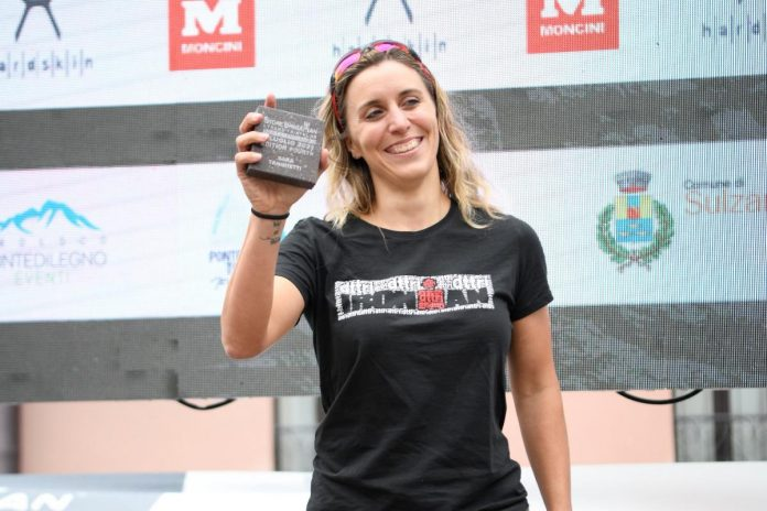 Intense Triathlon, Sarah Tangetti of Brescia Gold
