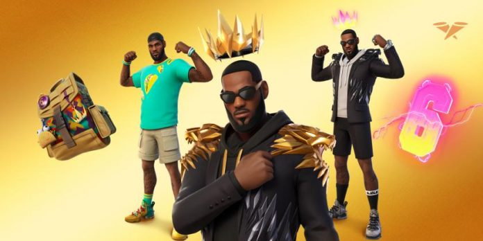 Lebron James Icon is coming soon to Fortnite