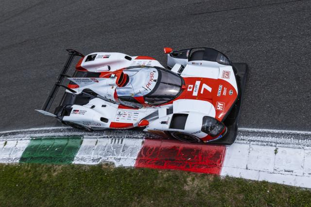 N ° 7 Toyota leads the 6-hour Monza halfway