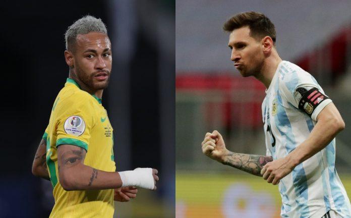 Neymar and Leo Messi, the best in Copa America 2021