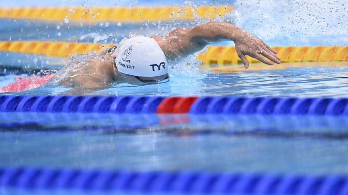 Olympic Games 2021 - Swimming: Maxime Grost qualified for the final of the 100m freestyle, double by Ariarn Titmus.