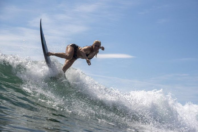 Refreshing for surfers sports