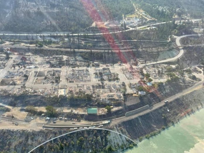 The Canadian city that touched +50 degrees Celsius was destroyed to the ground, the scenes of the end of the world [FOTO]