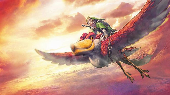 The Legend of Zelda Skyward Sword HD Planet Low Décor on Video