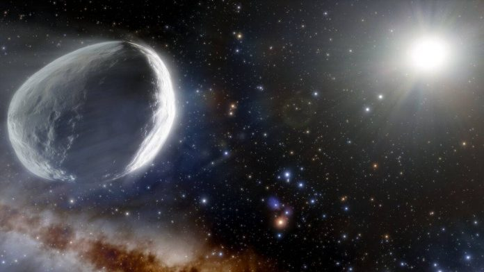 The story of the giant comet that came from the Oort cloud