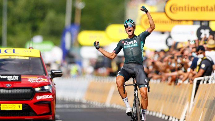 Tour de France: Nils Palit wins on stage - giraffe tears