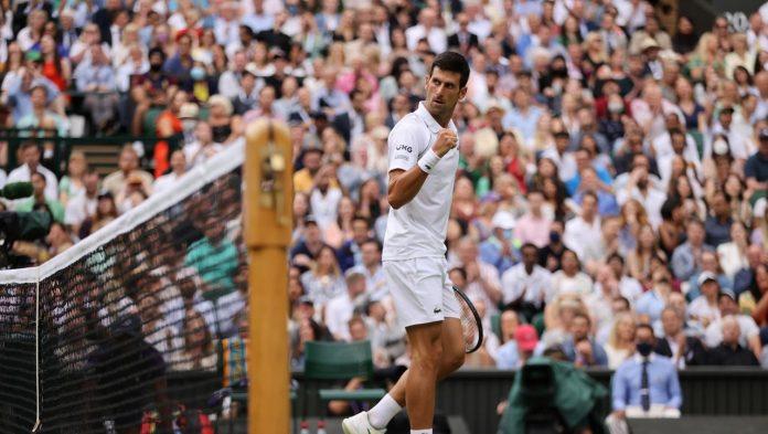 Wimbledon: Novak Djokovic finishes 20th against Denis Shapolo