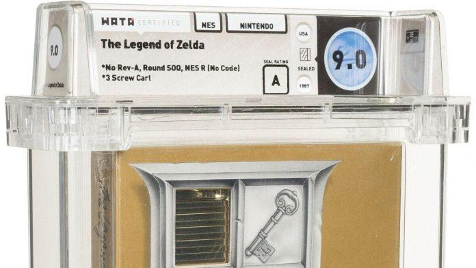 Zelda video game cartridge sold for $870,000