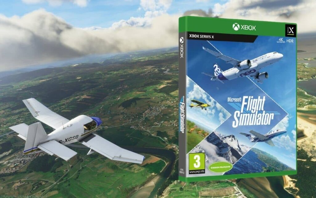The console version of Microsoft Flight Simulator is available on Xbox Game Pass.