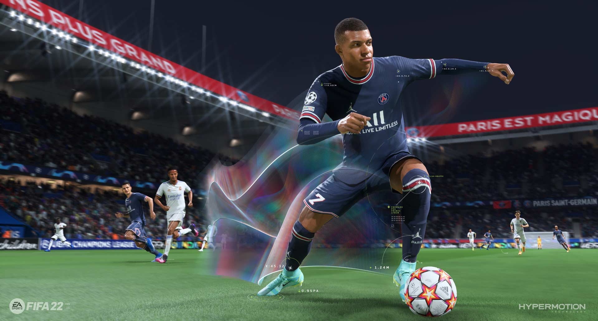 """Next generation features like """"Hyper Motion"""" stay in games """"FIFA 22"""" And """"Madden NFL 22"""" Exclusively reserved for next generation consoles from Microsoft and Sony.  © EA Sports"""