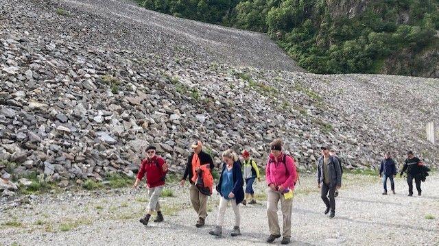EDF Hydro Alpes organise des visites du barrage de Grand' Maison à Vaujany jusqu'au 13 août.